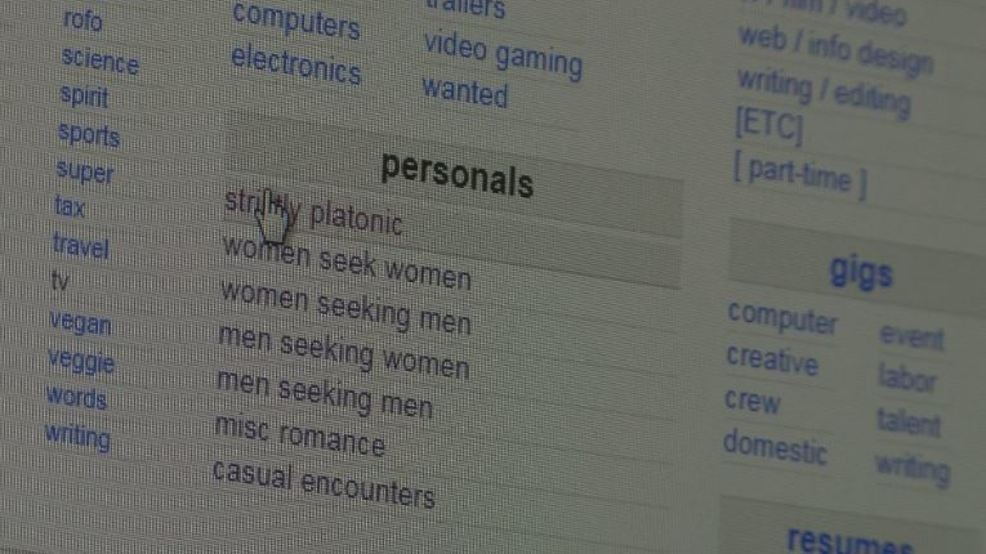 SARC, Richland Police react to Craigslist taking down personal ads