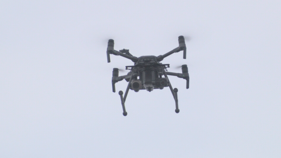 New drones will help law enforcement find people with