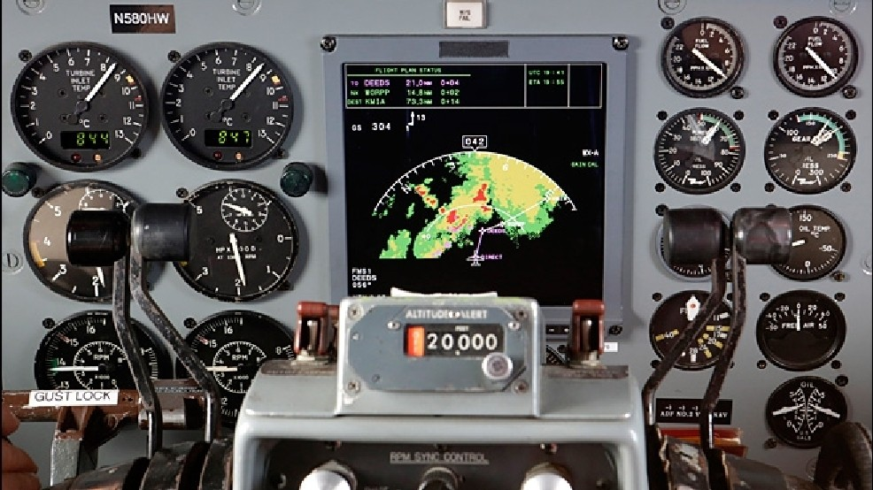 Airlines look for an edge in weather-radar systems | KEPR